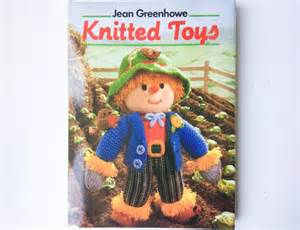 vintage knitted toys book by jean greenhowe over 50 toy