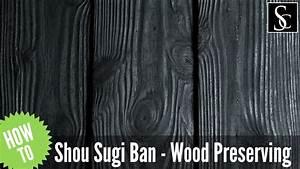 Shou Sugi Ban : shou sugi ban preserving wood with fire youtube ~ Zukunftsfamilie.com Idées de Décoration