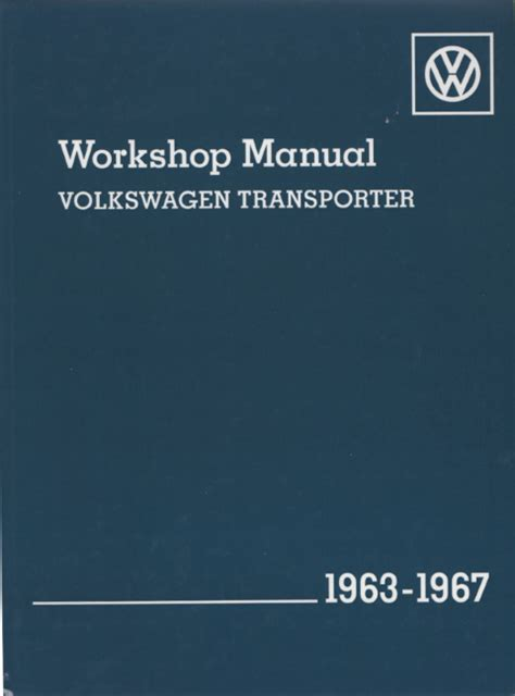 online auto repair manual 1967 ford country electronic valve timing volkswagen vw transporter type 2 1963 1967 owners service repair manual sagin workshop car