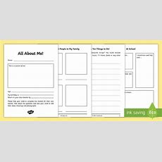 All About Me Ks1 To Ks2 Transition Booklet  Moving Up, New Class, New