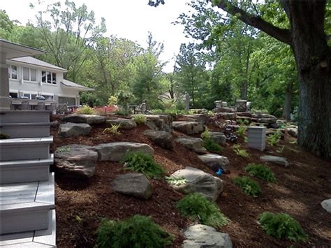 Landscaping Hill Backyard