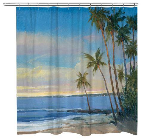tropical breeze shower curtain tropical shower