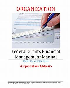 Cover Editable Financial Management Manual