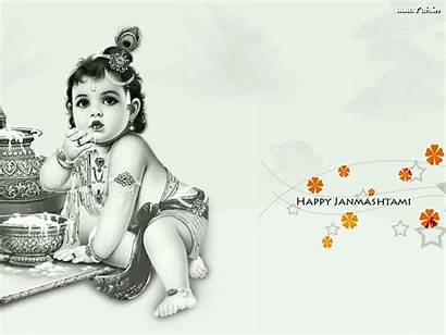 Krishna God Wallpapers Lord Child Clipart Coloring
