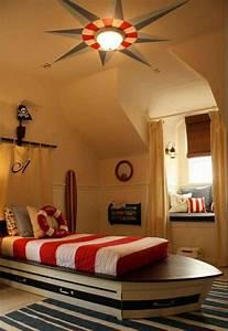 Decoration Chambre Style Marin : chambre garcon style marin id e d co chambre ado autour ~ Zukunftsfamilie.com Idées de Décoration