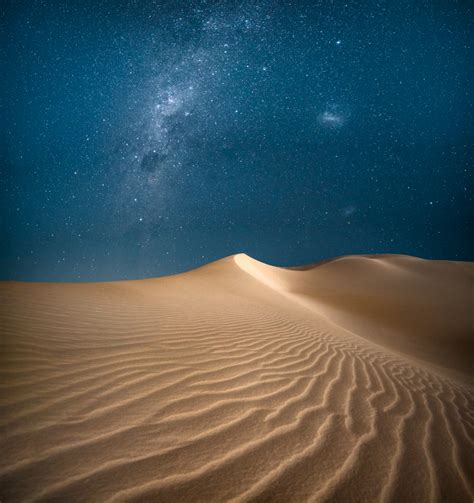 Milky Way Over Lancelin Dunes Alex Wise Photography