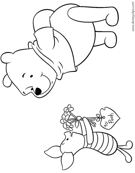 disney valentines day coloring pages disneyclipscom