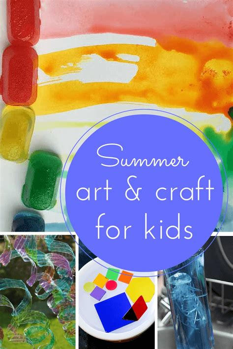 summertime art  craft  kids