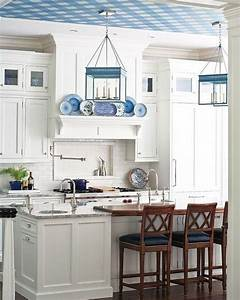 30 beach and coastal kitchen design ideas comfydwellingcom With coastal italian style kitchen design