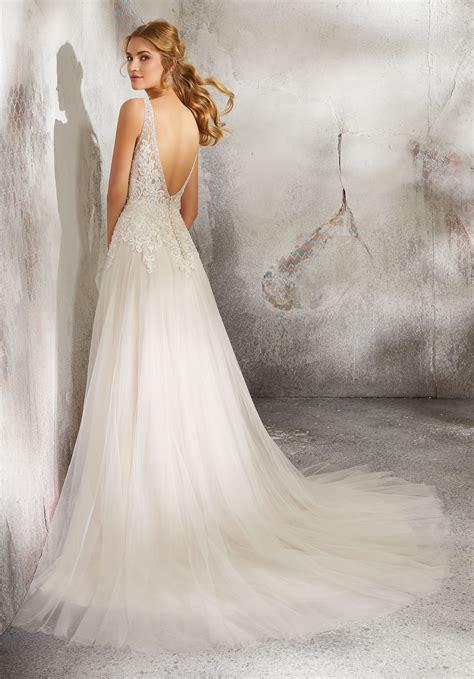 luana wedding dress style  morilee