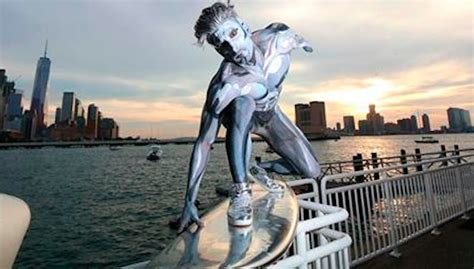 man surfs  nyc  silver surfer  inertia