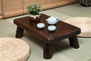 2017 Small Japanese Wood Table Traditional Rectangle 60 ...