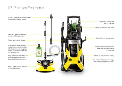 k 228 rcher k7 premium eco home water cooled pressure washer