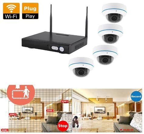 hd beveiligingscamera set bewaking beveiligingscamera set nvr 1080p 4 dome 1080p