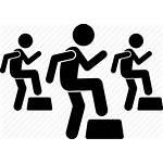 Class Fitness Aerobic Icon Training Gym Lesson