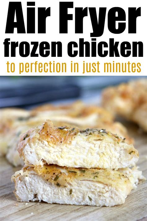 fryer air chicken frozen cook breast cooking recipes wings temeculablogs recipe tenders times