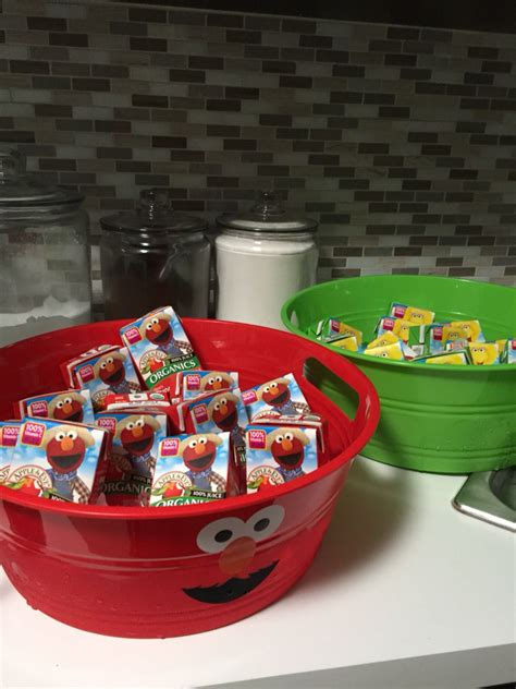 After all, kids may have to try a new food up to 14 times before they develop a taste for it! Sesame Street party food ideas.   Elmo birthday party, Sesame street party, Elmo birthday