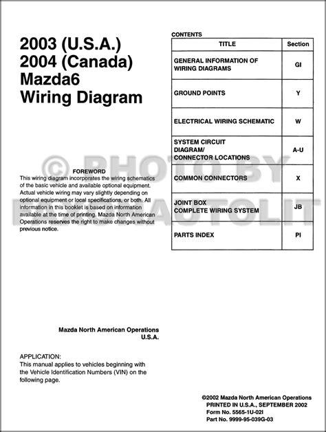 Mazda Original Wiring Diagram Canada