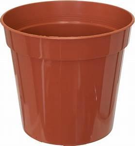 Sankey 8 in/20 cm Plastic Flower Pot M W Partridge & Co