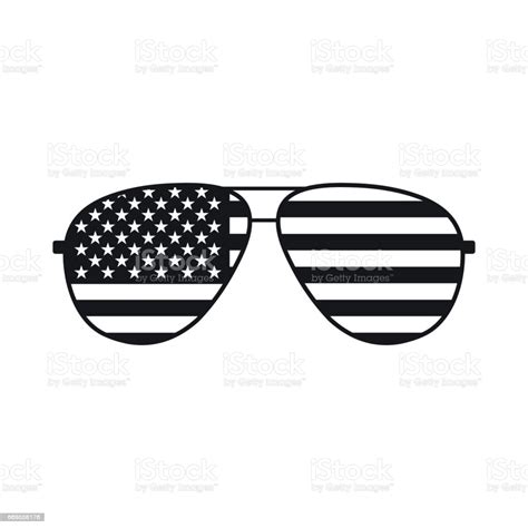 I am adding new svg files all the time so be sure to pin and bookmark this website so you can come back and check for more free svg art files. American Flag Glasses Icon Stock Illustration - Download ...