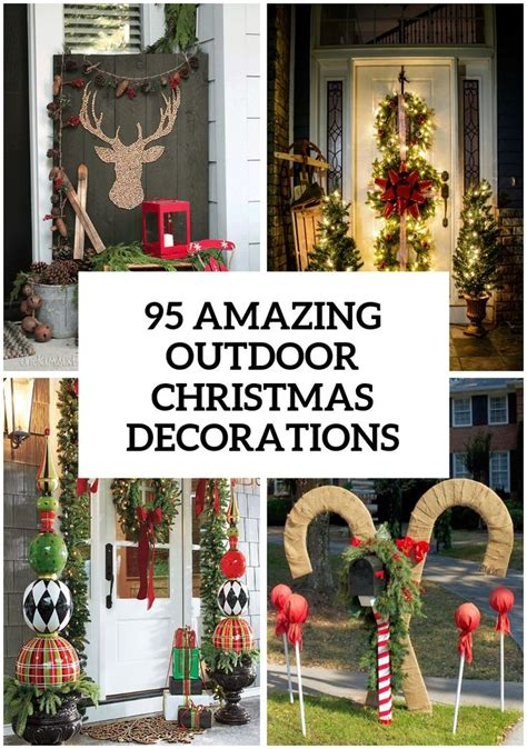 amazing outdoor christmas decorations christmas