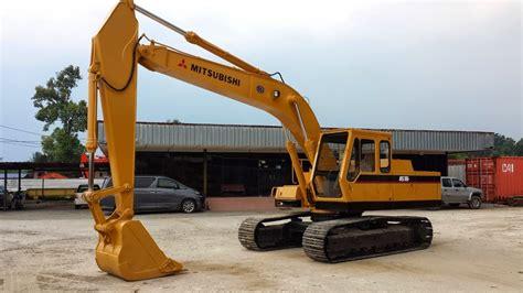 Mitsubishi Excavator by Soon Seng Heavy Equipment Plt Mitsubishi Ms180 8