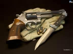 Real Revolver Gun Wallpaper