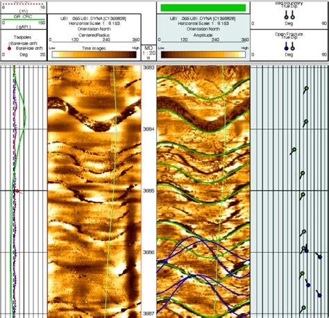 Acoustic Image Crain S Petrophysical Handbook Acoustic Image Logs Aka