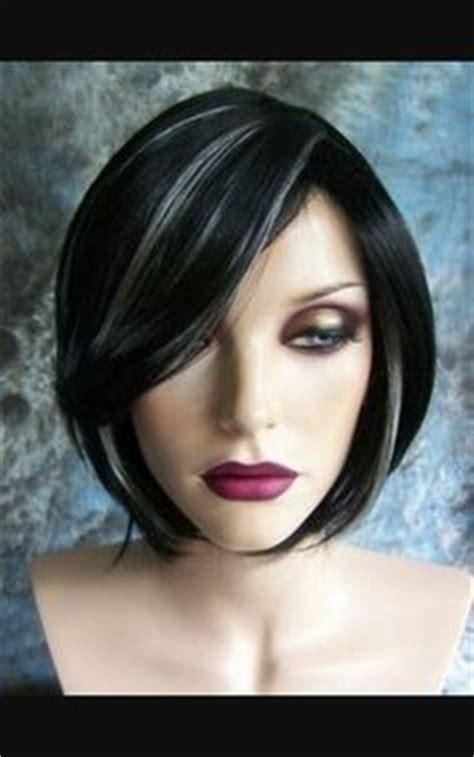 platinum highlights  dark hair hair pinterest