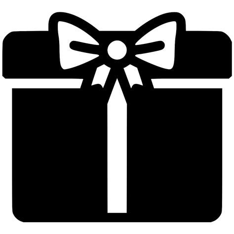 Gift Box Svg Png Icon Free Download (#568480 ...