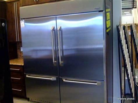 ge monogram refrigerator bottom freezer  ss  sale