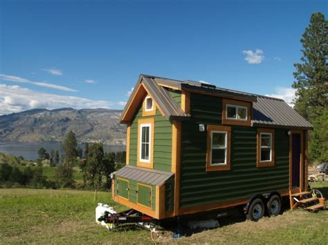 Tiny House On Wheels Moving To Vancouver Island