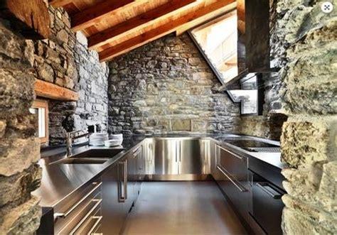 impresionantes ideas  decorar la cocina  piedras