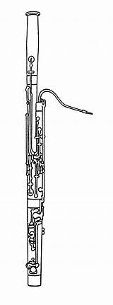 Bassoon Instruments Coloring Clipart Instrument Music Orchestra Pages Musical Woodwind Sheets Grade 6th Clip Clips Woodwinds Elementary Scasd Teaching Colouring sketch template