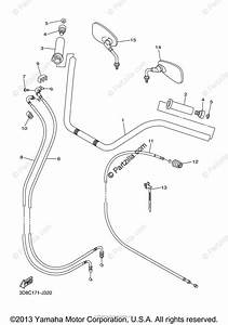 Yamaha Motorcycle 2013 Oem Parts Diagram For Steering