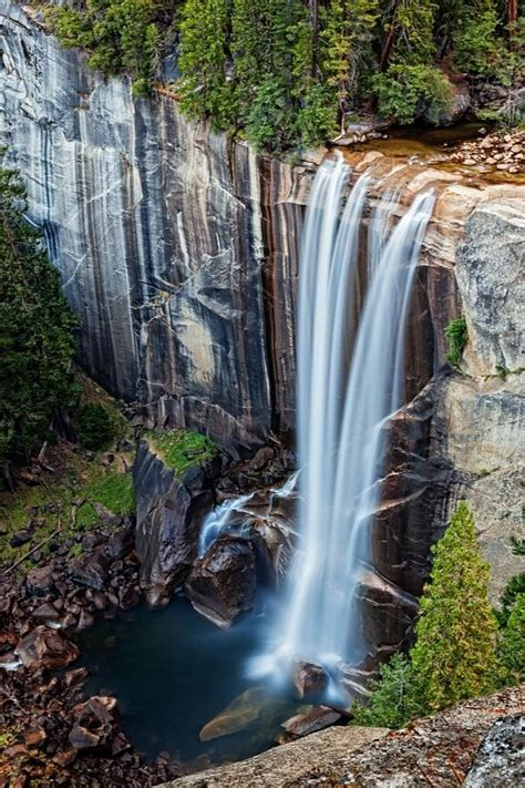 Vernal Falls Yosemite National Park California The
