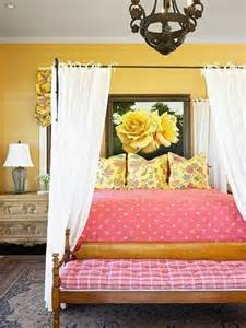 pink and yellow bedroom yellow interiors by color 16698 | yellow and pink bedroom
