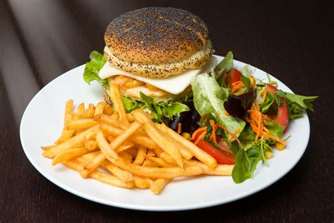 cuisine burger free images dish meal salad produce plate fast food