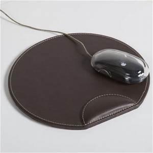 tapis de souris d39ordinateur imitation cuir la redoute With tapis pour souris d ordinateur