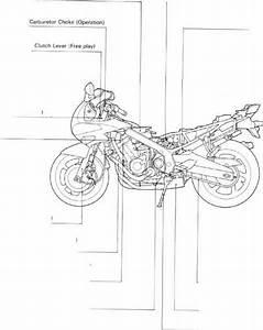 Service Access Guide - Honda Cbr 600 1991-1994