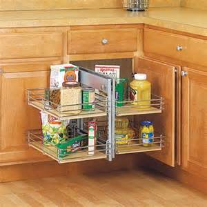 blind corner cabinet lazy susan woodworking projects plans