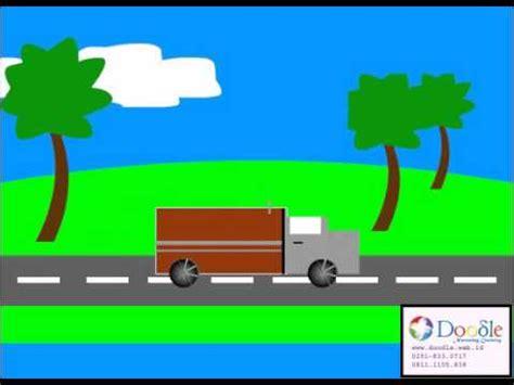 animasi mobil mubarak doodle student youtube