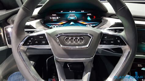 Audi E Tron Quattro Concept Exclusive First Look Inside