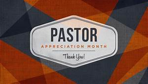 October is Pastor Appreciation MonthHolley Christian Church