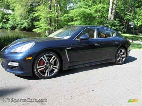 porsche panamera dark blue 2010 porsche panamera turbo in dark blue metallic 090874