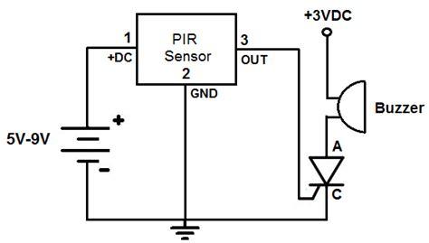 How Build Motion Detector Alarm Circuit