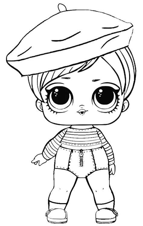 disegni da colorare bianco e nero bambole lol pagine da colorare 80 immagini in bianco e