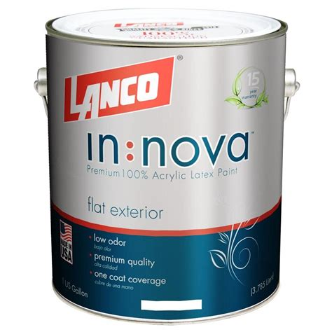 lanco stucco coat 1 gal acrylic ultra white elastomeric