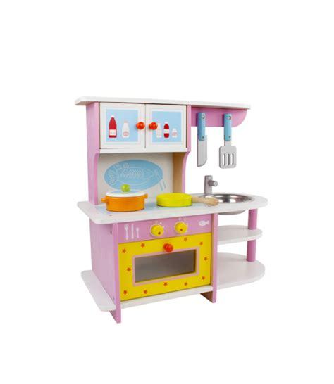 Bērnu Rotaļu Spēļu Koka Virtuve ar Piederumiem, 45cm ...