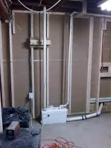 basement bathroom grinder